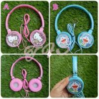 harga Headphone / Headset Hello Kitty, Doraemon Tokopedia.com