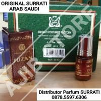 SURRATI ARAB SAUDI Parfum Suzan 3ml 3 ml  Parfume Susan Al Rehab 6ml 6