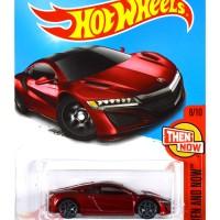 '17 Acura NSX MERAH / RED - Hot Wheels HW Hotwheels