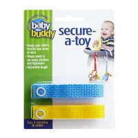 Baby Buddy Secure A Toy Blue/Yellow