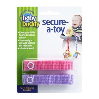 Baby Buddy Secure A Toy Pink/Lilac