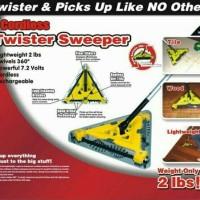 SAPU LISTRIK SWIVELS 360 CORDLESS TWISTER SWEEPER