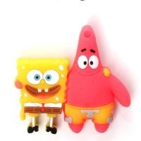 Jual Flashdisk / FD karakter Spongebob & Patrick 16 GB Murah