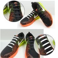 8 pcs Tali Sepatu Kets, Olahraga, Anak Silikon / Silicone Shoelace