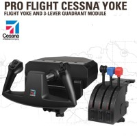 SAITEK PC PRO FLIGHT - CESSNA YOKE SYSTEM