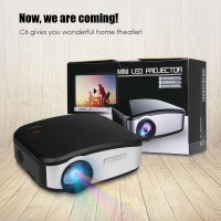 CHEERLUX C6 Mini Proyektor Projector Portable LED LCD - Cheerlux C6