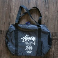 Stussy 30th Anniversary Cylindrical Duffle Bag/Handbag/Shoulder Bag