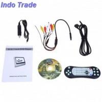 Layar Kursi Mobil DVD Player Function - Black