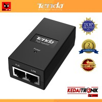Tenda PoE15F PoE Injector 15 Watt 48V 48 Volt CCTV, Phone Line, IP Cam