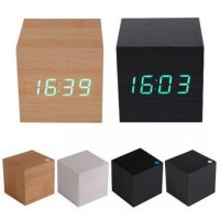 Jual LED Digital Wood Clock / Alarm clock / jam waker / Digital clock / jam Murah