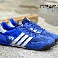 sepatu adidas dragon blue white Berkualitas