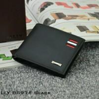 Dompet Pria Bally Bifold Leather HITAM 8897