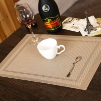 102 Tatakan piring bahan pvc ringan modern higienis for rumah / hotel