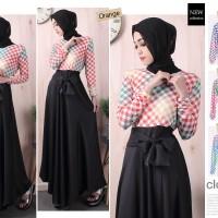 fashion long dress gamis/tunik