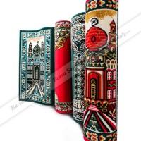 Karpet Sajadah Masjid Mushola Motif Warna - Roll Medeena Murah
