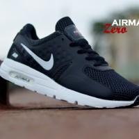 Sepatu Running Nike Airmax List Putih Pria Black