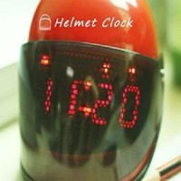 Jam Unik Alarm Helm - Helmet Clock