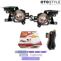 Foglamp Nissan X-Trail / X Trail 2005-2007 set lengkap / Lampu Xtrail