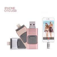 flash disk drive flashdisk OTG USB 3in1 Apple android PC 64GB