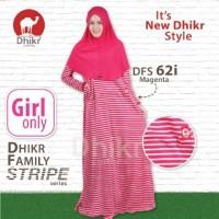 Gamis Dhikr Family Stripe DFS 62i size S