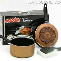 EXCLUSIVE Maxim Vanice Set Teflon Set 5 pcs TERMURAH