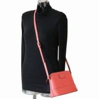 Kate Spade WKRU2895 Hanna Wellesley Leather Crossbody Bag Flamingo