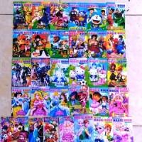 Mainan Kertas Gosok / Scratch Book Kecil / Magic Book Karakter +TTS