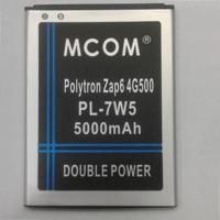 Baterai Polytron Zap 6 Zap6 Cleo 4g500 Pl-7w5