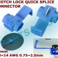 Automotive wire Jumper Cable Scotch Lock Quick Splice Connector Kabel