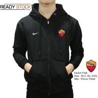 jaket as roma hoodie black