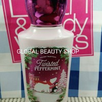 TWISTED PEPPERMINT (BODY LOTION / BUTTER) BATH & BODY WORKS