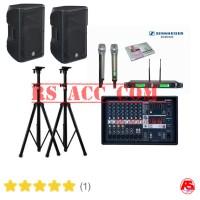 Paket Sound System Karaoke Yamaha Outdoor / Indoor + Mic Wireless