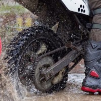 Sepatu touring cross trail balap drag Anti Air AP BOOTS MOTO 3 MOTO