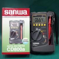 Jual Beli TOOL MULTITESTER SANWA CD800 DIGITAL ORIGINAL Baru |