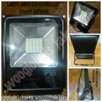 LAMPU SOROT LED FLOODLIGHT 30watt OUTDOOR HAMATSU