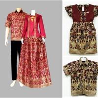 harga Baju seragam keluarga couple batik family sarimbit kebaya pesta SRF1 Tokopedia.com