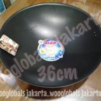 WAJAN TEFLON ANTI LENGKET PENGGORENGAN (36 cm) WOK MAXIM VALENTINO