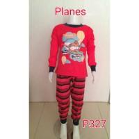 Setelan baju tidur anak laki laki Planes (P327)