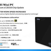 Jual MINI PC Z83 II Intel Atom x5-Z8350 2GB RAM 32GB ROM TV Box WIndows 10 Murah