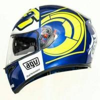 Helm Motor Full Face Fullface AGV K3 SV Rossi VR46 Winter Original