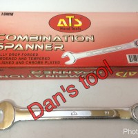 Kunci Ringpas / Kunci Ring Pas / Combination Spanner ATS 10 mm