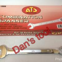 Kunci Ringpas / Kunci Ring Pas / Combination Spanner ATS 27 mm