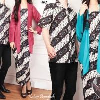 harga Kemeja Dress Couple Batik Sarimbit Tokopedia.com