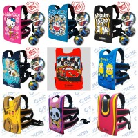 Jual Sabuk Bonceng Anak, Sabuk Bonceng Motor - Doraemon (Gratis Goodie Bag) Murah