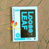 Toyo A5 100 lbr Polos isi Loose Leaf / Kertas Refill Binder 20 Holes