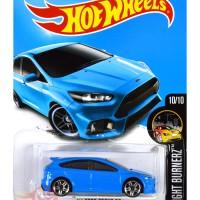 '16 Ford Focus RS FORZA BIRU / BLUE - Hot Wheels HW Hotwheel