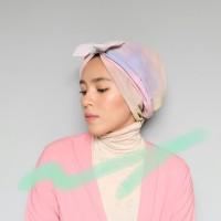 Jual Turban Instan - Bow Turban Aquarelle Murah