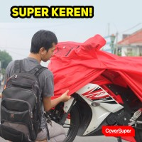 Cover Motor Super CoverSuper Ukuran XXL Utk CBR250RR, R25, Ninja 250