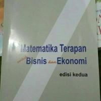 Matematika Terapan untuk Bisnis dan Ekonomi by Dumairy
