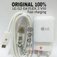 Charger LG G2 G4 FLEX 2 V10 FAST CHARGING ORIGINAL 100% 9v 1.8A